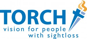 Torch Trust logo - vision for people with sight loss