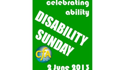Coming up: Disability Sunday